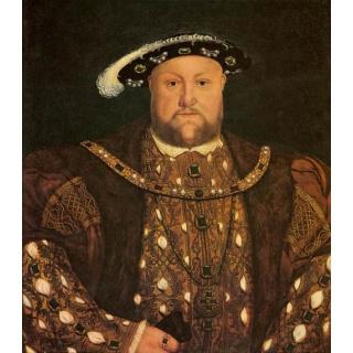 Англия, король Генрих VIII, налог на бороду.
