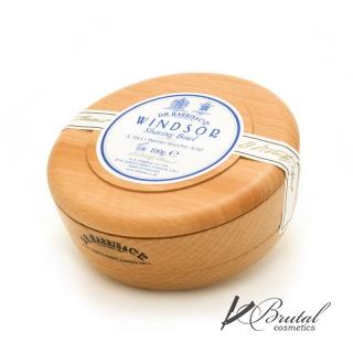 Твердое мыло для бритья в чаше из бука D. R. Harris, Windsor, 100 гр
