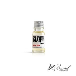 Масло для бороды The Bearded Man Company, Bay Rum (Карибский ром), 10 мл