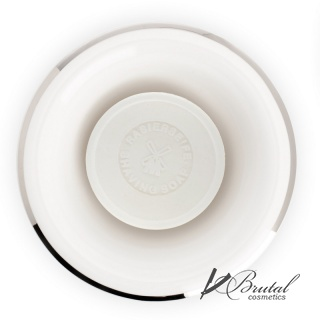 Чаша для бритья MUEHLE, белый фарфор, платиновый обод