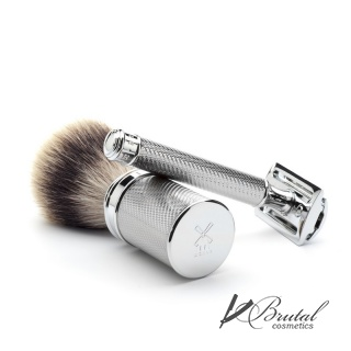 Т-образная бритва MUEHLE TRADITIONAL, хром, closed comb